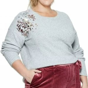 Ava & Viv Christmas Sweater Pullover Plus Size